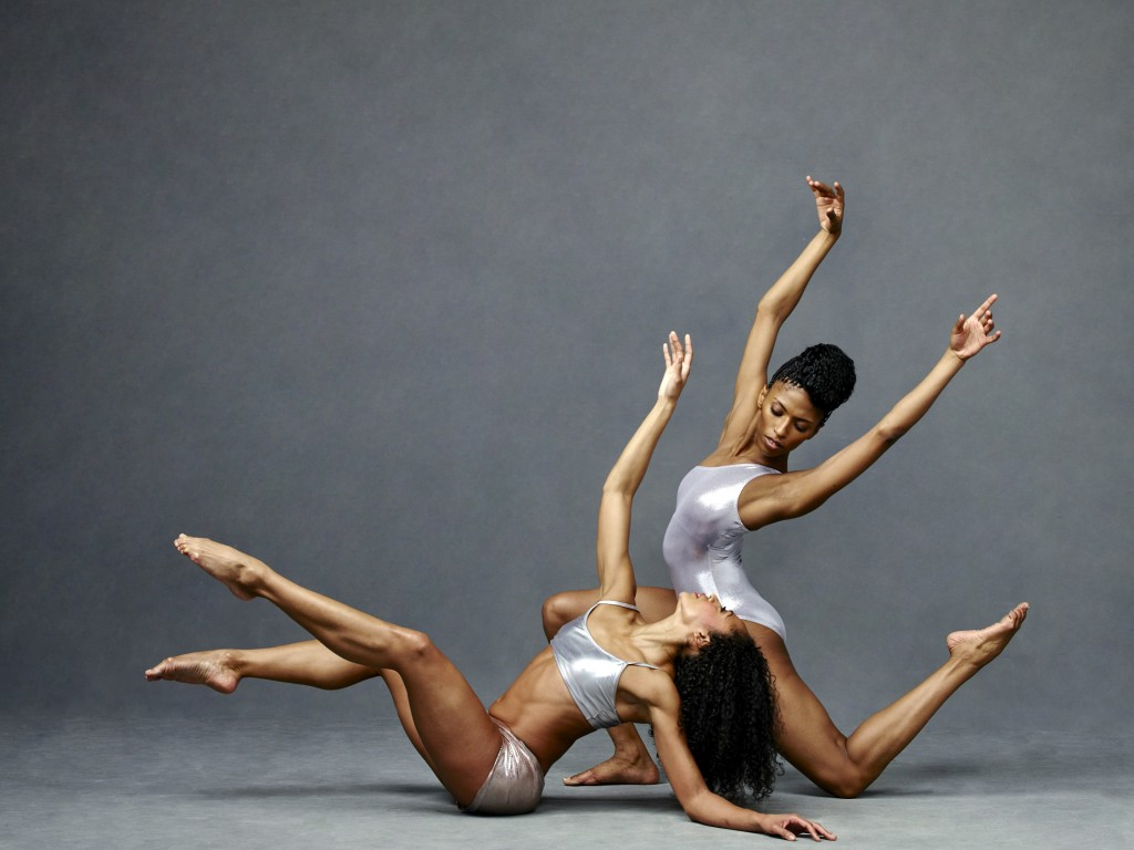 Alvin Ailey American Dance Theater's Linda Celeste Sims and Jacqueline Green. Photo by Andrew Eccles