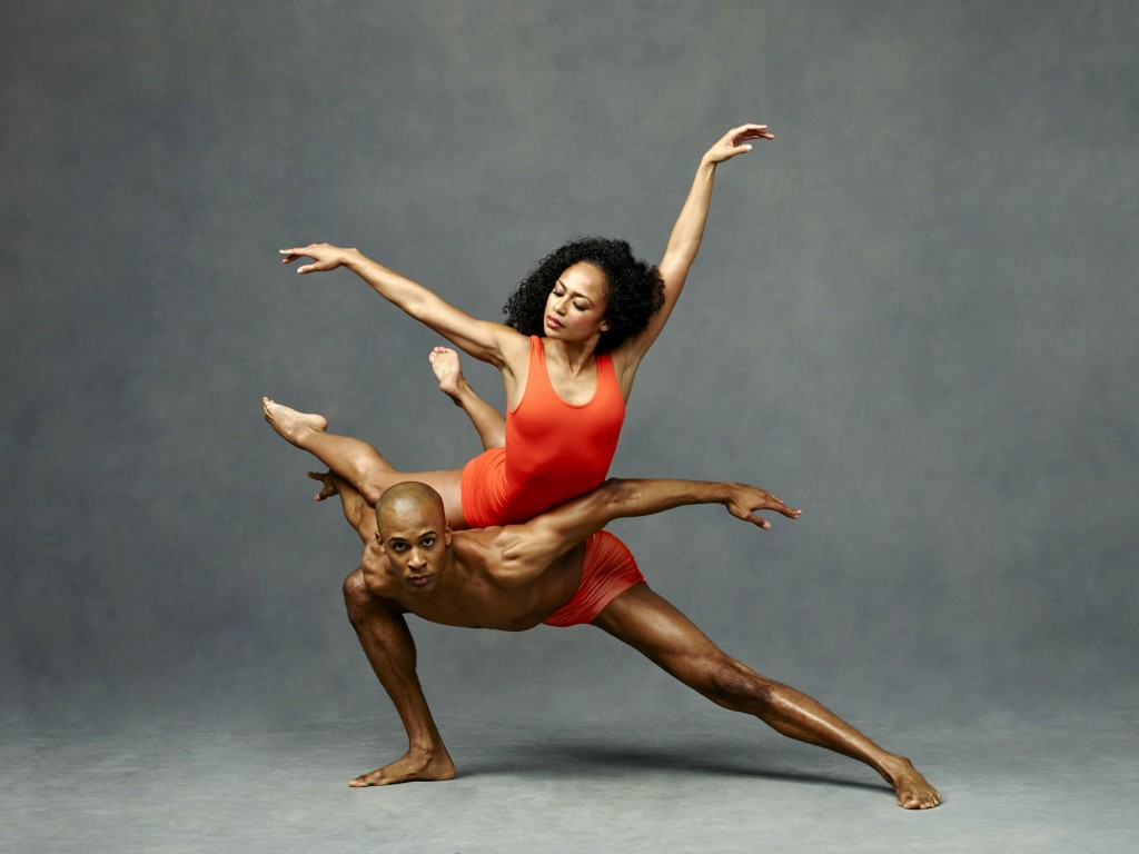Alvin Ailey American Dance Theater's Linda Celeste Sims and Yannick Lebrun. Photo by Andrew Eccles