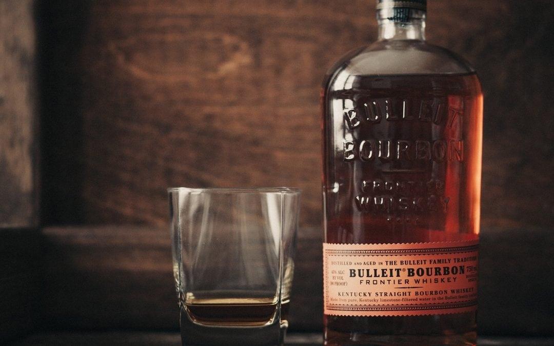 Bottom's up: Bulleit Bourbon