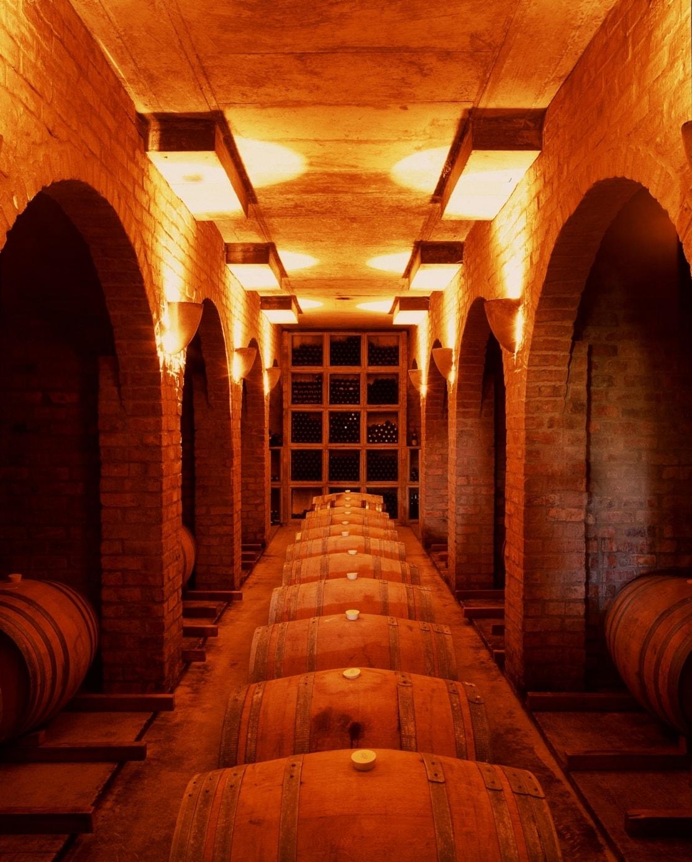 Underground Chardonnay Cellar-min