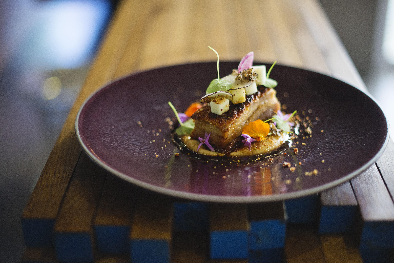 Majeka House - Makaron Restaurant - Pork belly, celeriac and apple 2 (HR)-min