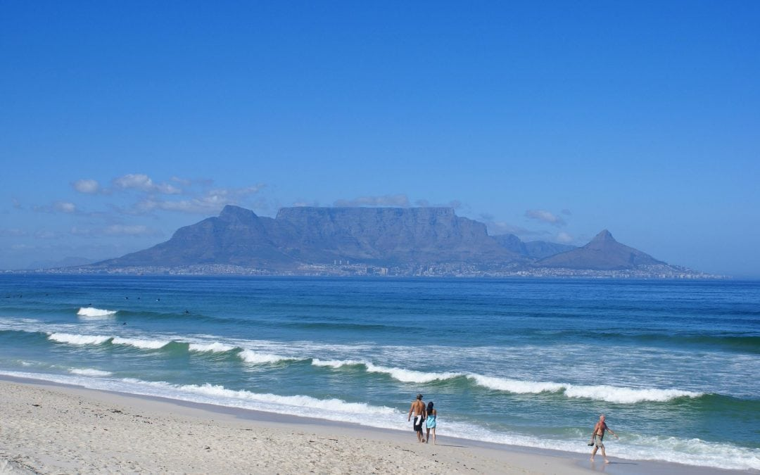 West Beach in Cape Town