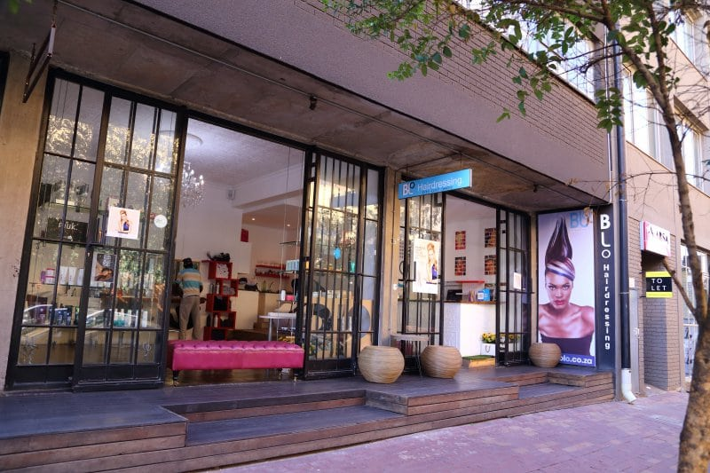 Blo salon in Maboneng