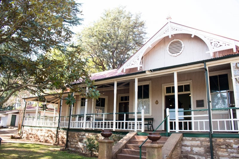 The Smuts House Museum in Johannesburg