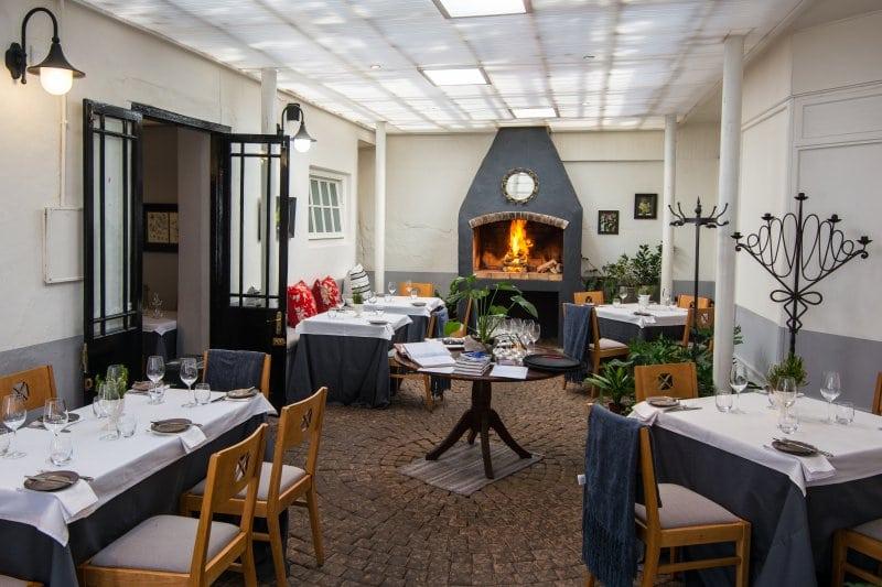 Jardine restaurant in Stelenbosch