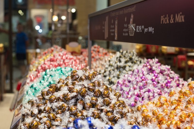 The Lindt Chocolate Boutique in Gateway