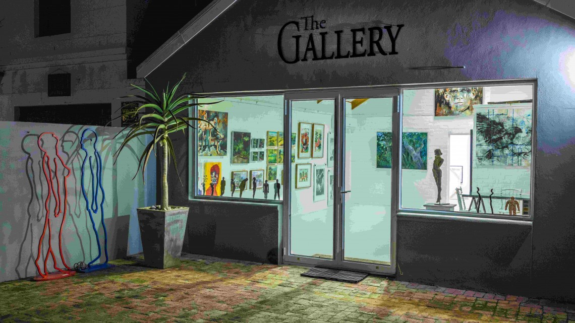 the gallery front
