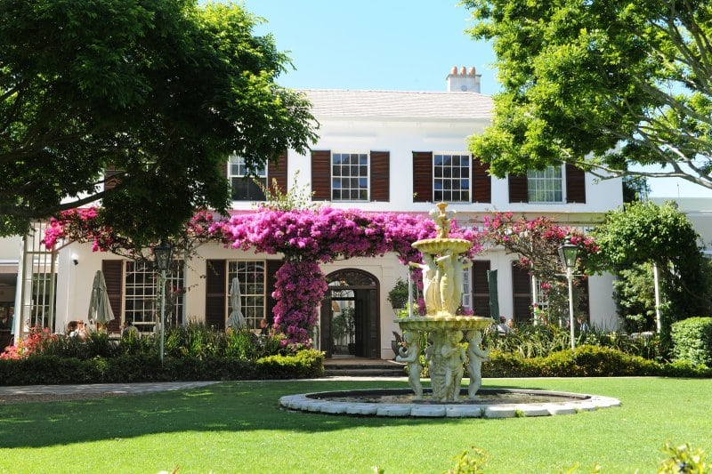 A Secret Garden at Vineyard Hotel in Newlands