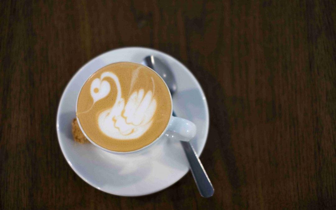 Artful coffee in Pretoria