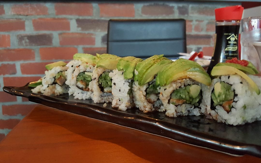 Papa San's sushi and Japanese cuisine