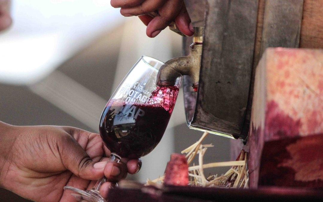 Pinotage on Tap in Modderfontein 2016