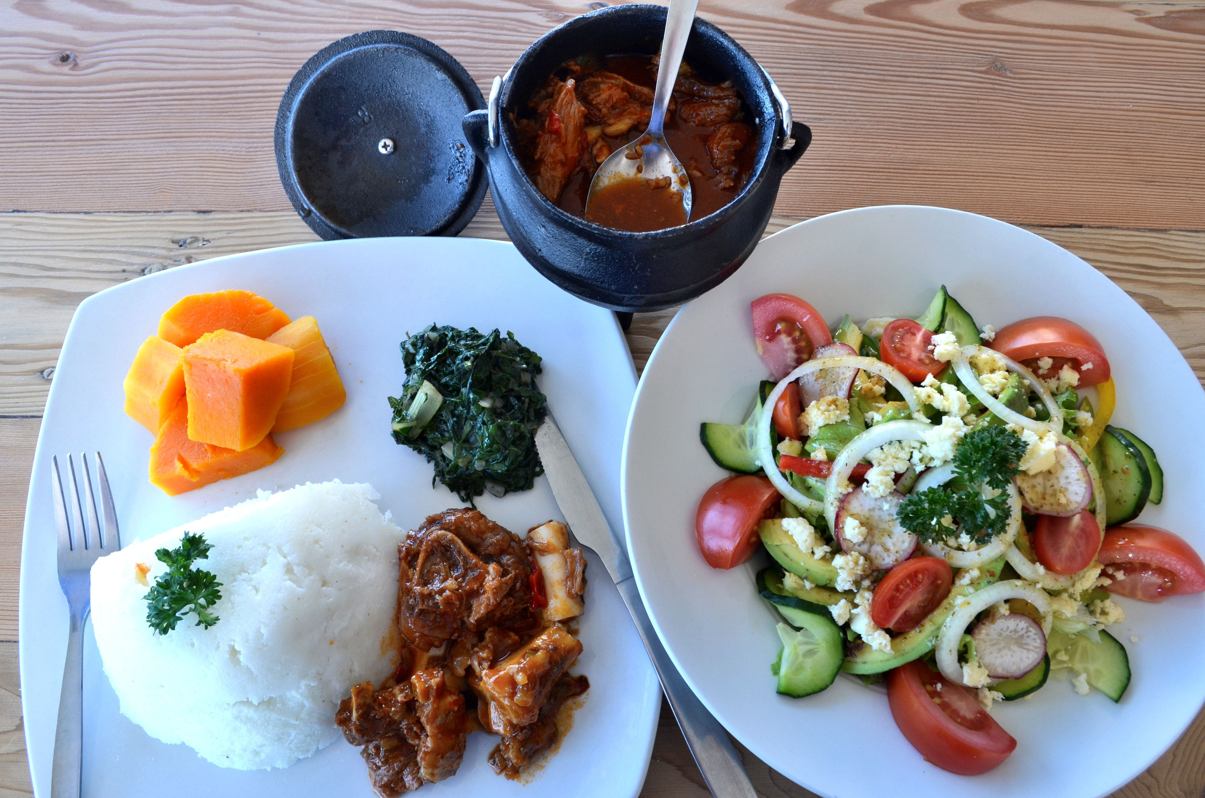 Home cooked goodness for African cuisine restaurant