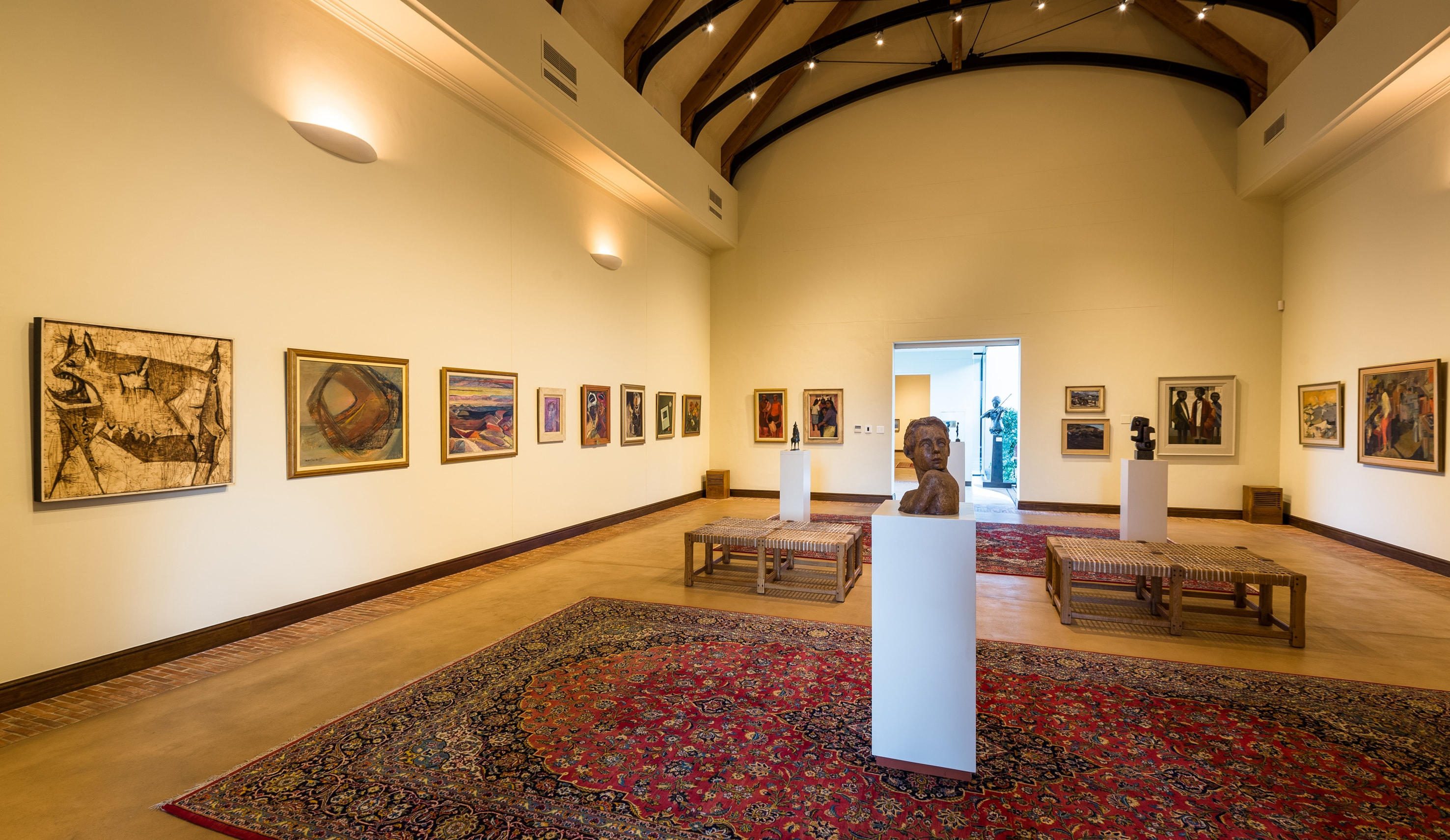 Thoughtful Journey - a celebration of female artists, exhibition view 2-min