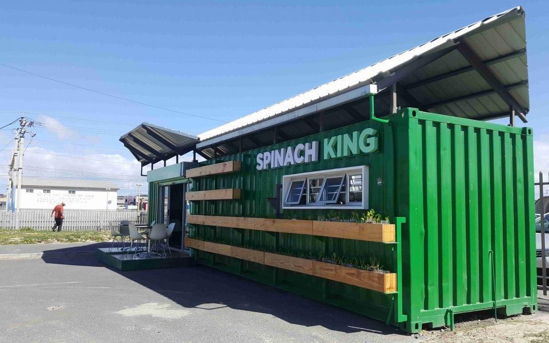 Spinach King cafe in Khayelitsha