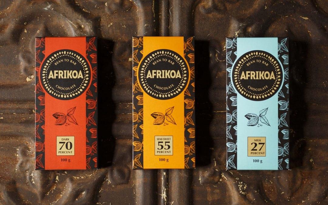 Afrikoa chocolate makers in Century City