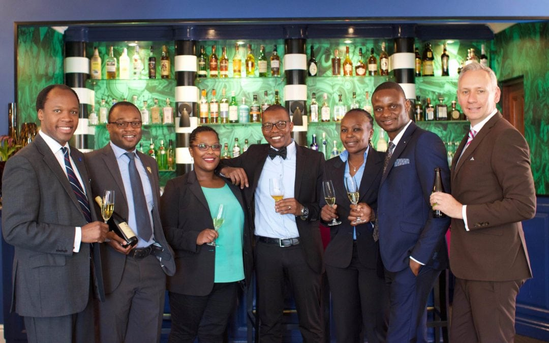 Sommeliers giving back