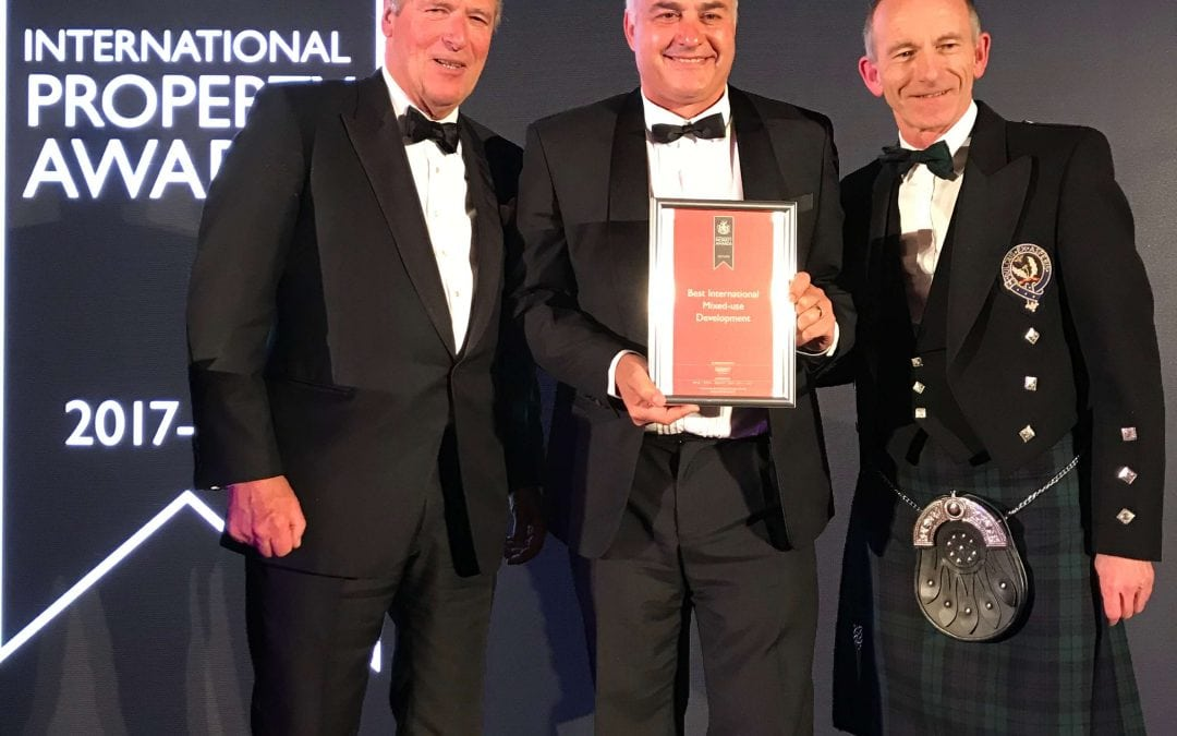 Waterfall wins International Property Award