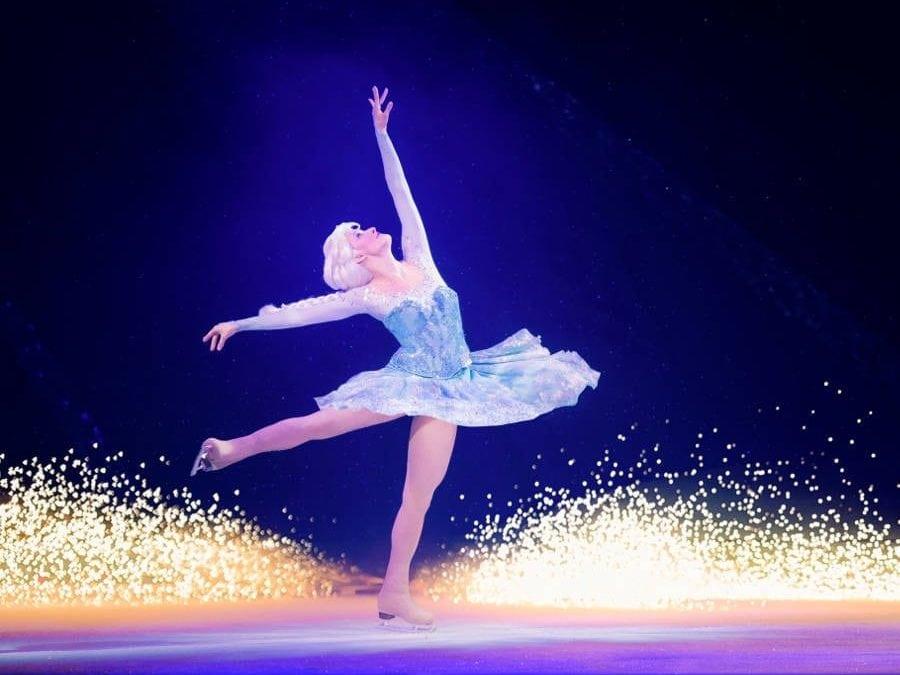 The magic of Disney… on ice