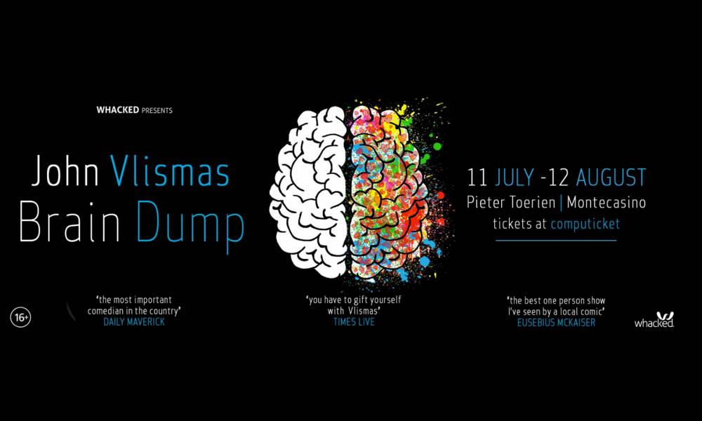 """John Vlismas in """"Brain Dump"""""""