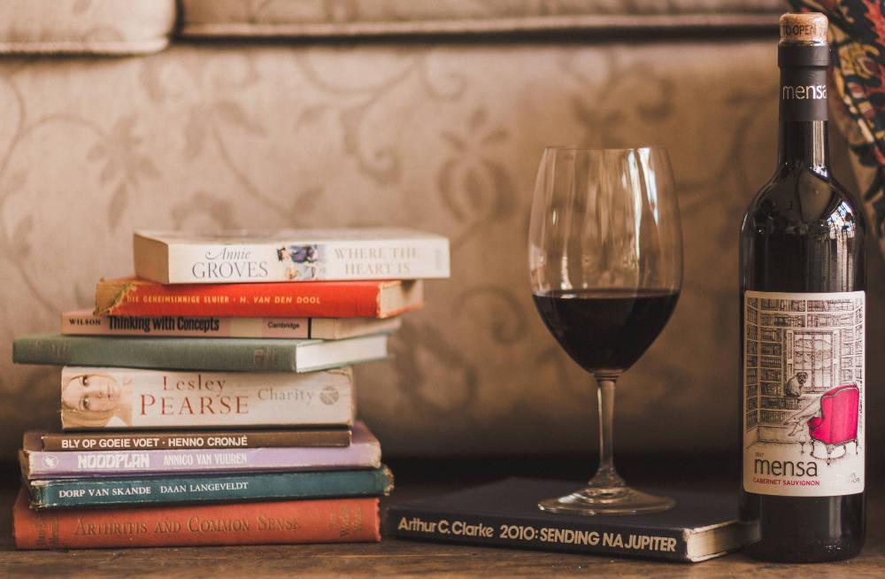 Novel Mensa Wine & book pairing during National Book Week