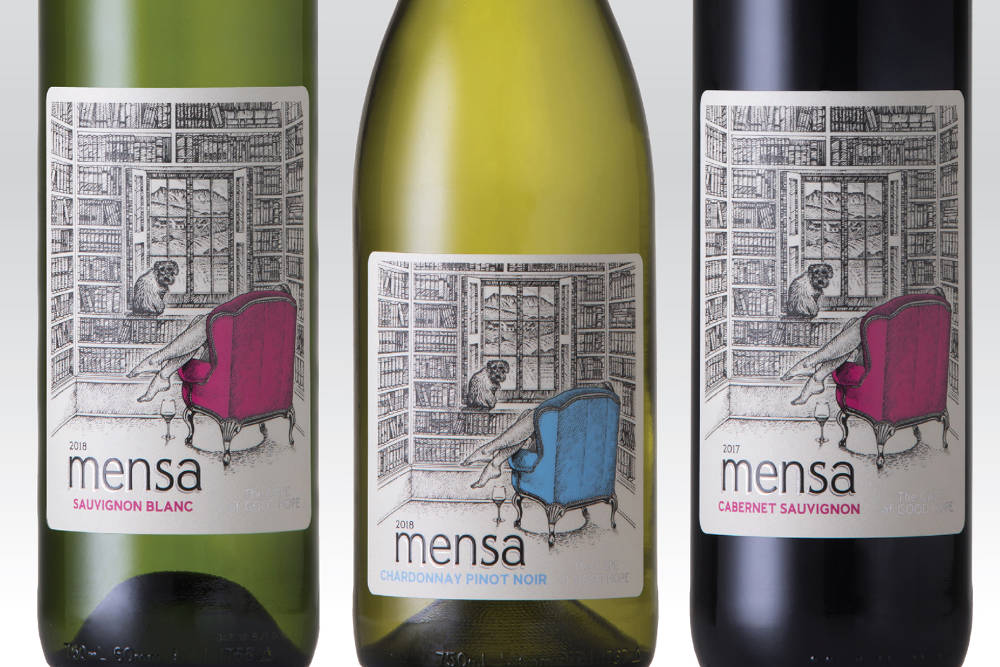 New Mensa wine range is a bestseller with a twist