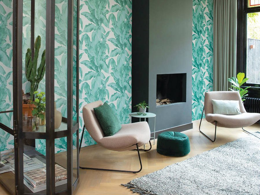 Wallpaper Trends: The writing's on the wall