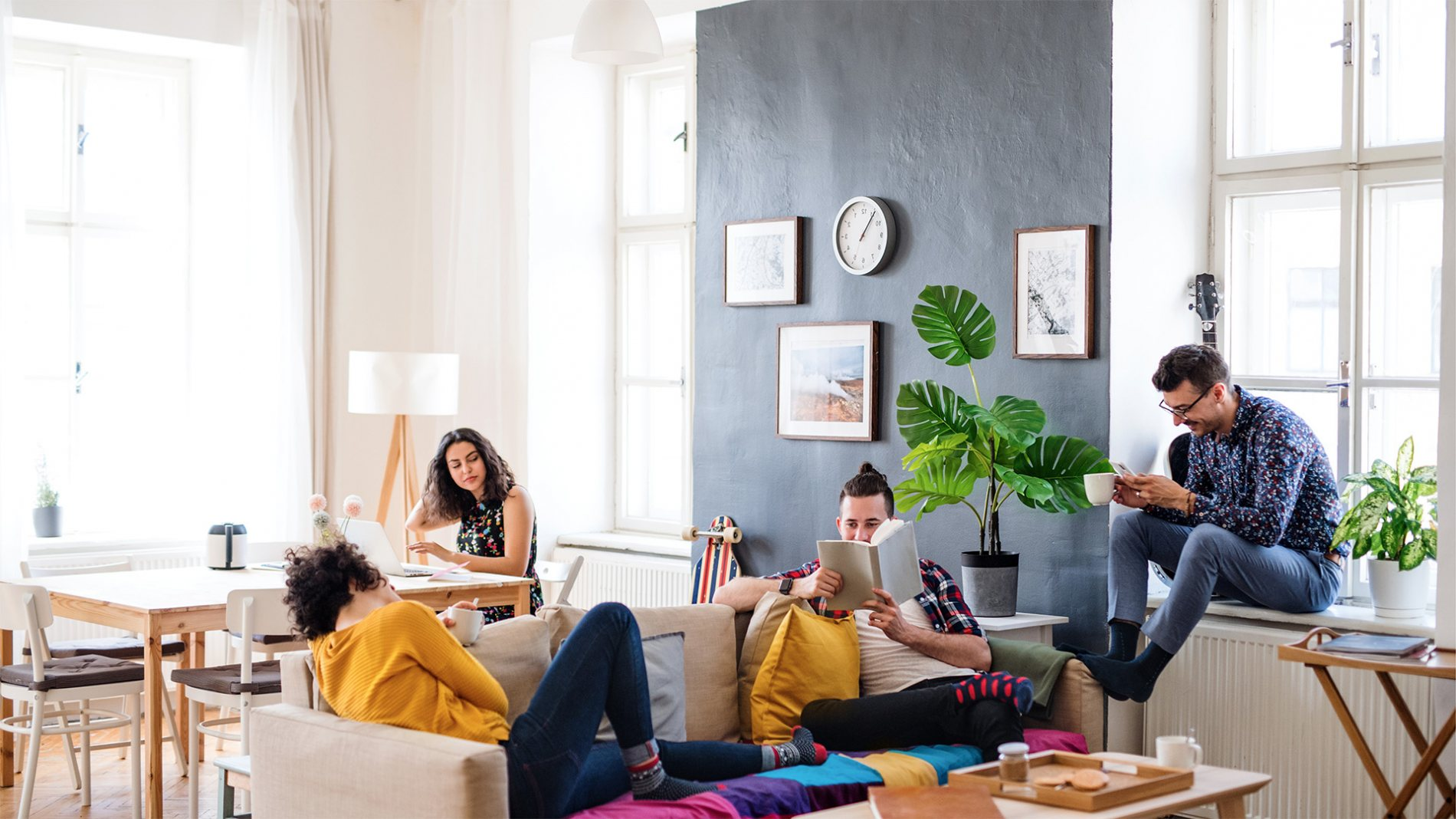Microliving with a macro-lifestyle