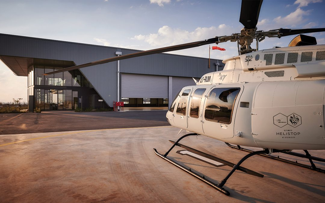 Steyn City's helistop a first for SA residential developments